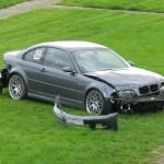 Damaged BMW