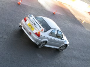 My EVO in the pit lane