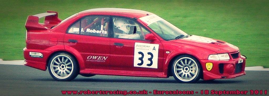 Euro Saloons Snetterton 2011 - Three Wheels