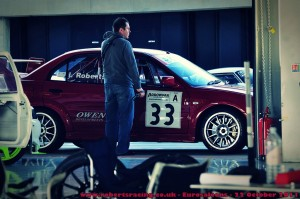 Euro Saloons Silverstone 2011 – EVO 5 - Ready for the race
