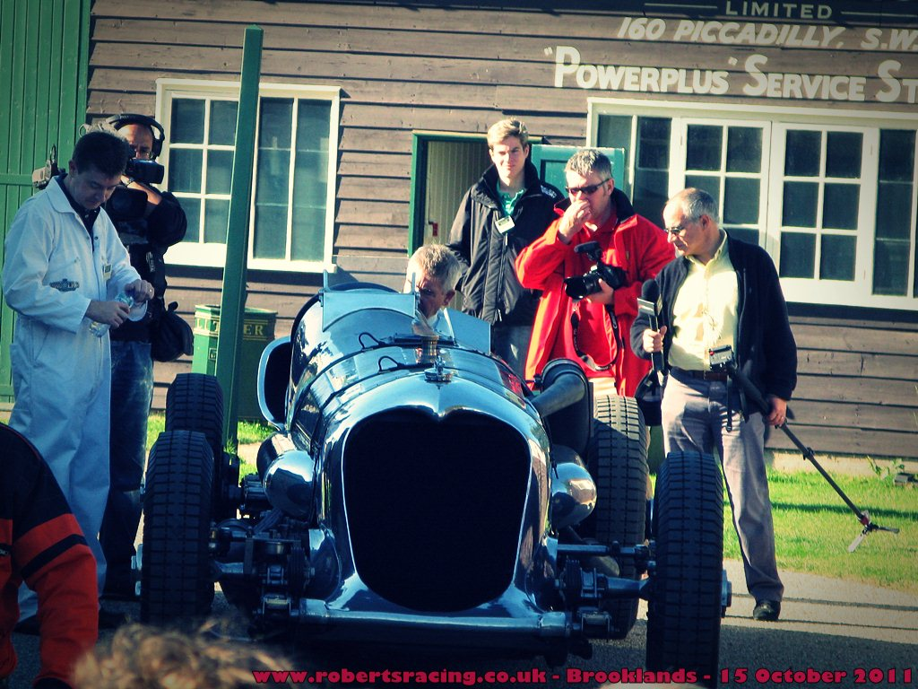 Brooklands Autumn Motorsport 15th October 2011
