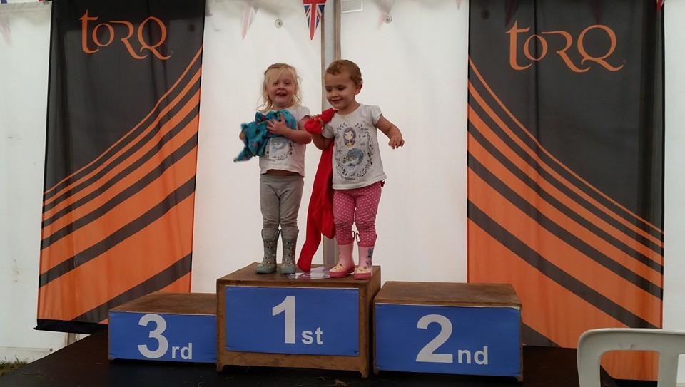 N and J on the Podium